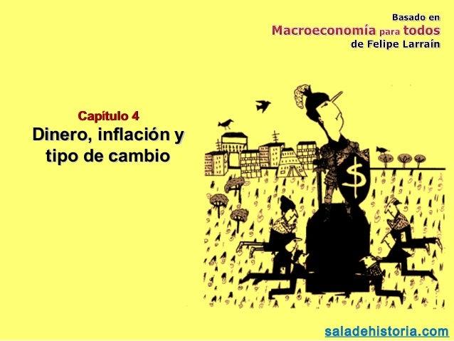 Capítulo 4Dinero, inflación y tipo de cambio                      saladehistoria.com