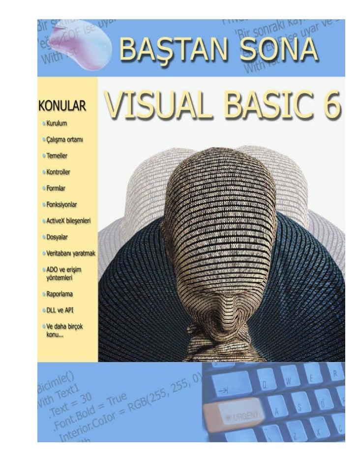 IÇINDEKILER                                                             SayfaVISUAL BASIC                                 ...