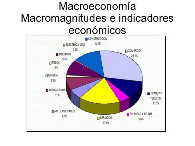 MacroeconomíaMacromagnitudes e indicadores       económicos