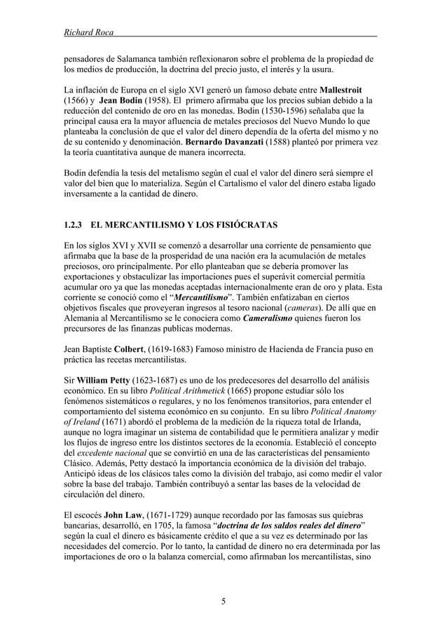 Richard Roca . pensadores de Salamanca también reflexionaron sobre el problema de la propiedad de los medios de producción...