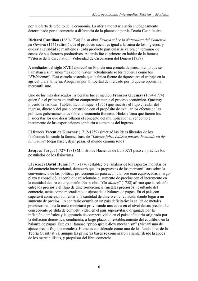 . Macroeconomía Intermedia: Teorías y Modelos por la oferta de crédito de la economía. La oferta monetaria seria endógenam...