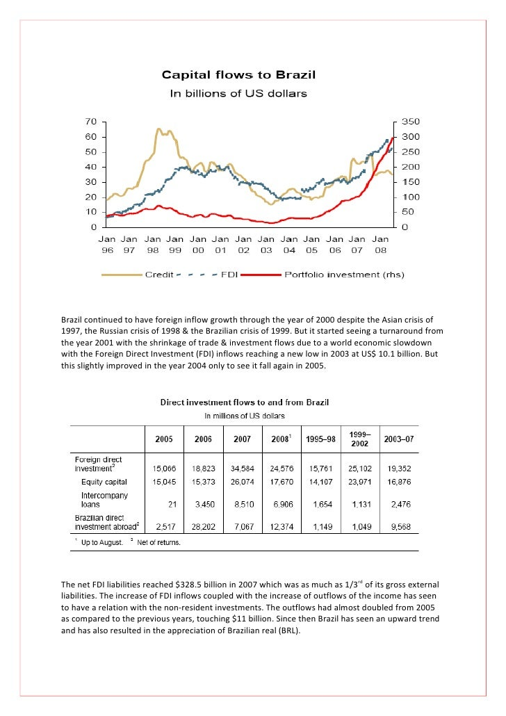 an overview of the brazilian economical crisis in 1999 This chapter was adapted from the department of state post report 1999  of a global financial crisis which began in asia in late 1997  economical, city buses.
