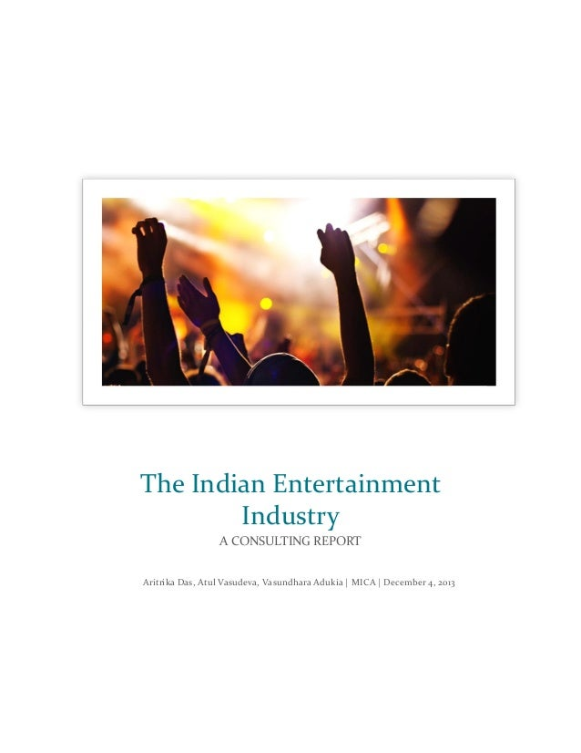 An analysis of the indian film industry