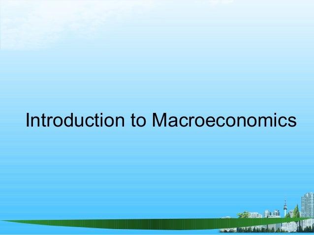 Macroeconomic policy instruments