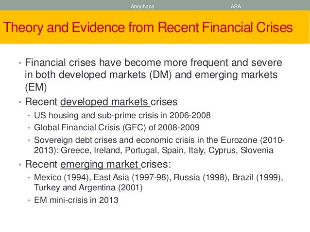 argentinean crisis 1999 2001 economic project This was a major bone of contention during the argentinean crisis,  as resulted from the us monetary policy 1999-2001,  confounding economic crisis,.