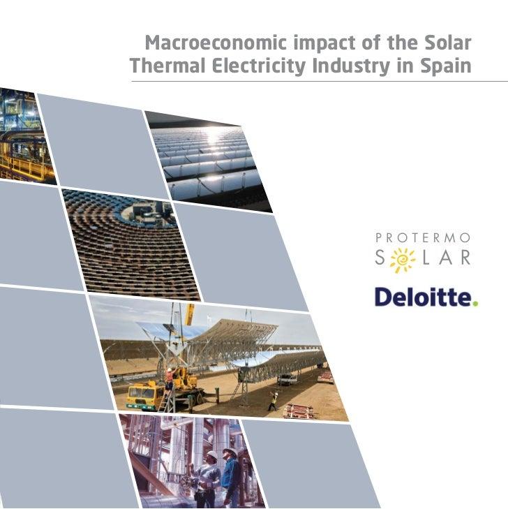 Macroeconomic impact of the Solar                                                                                         ...