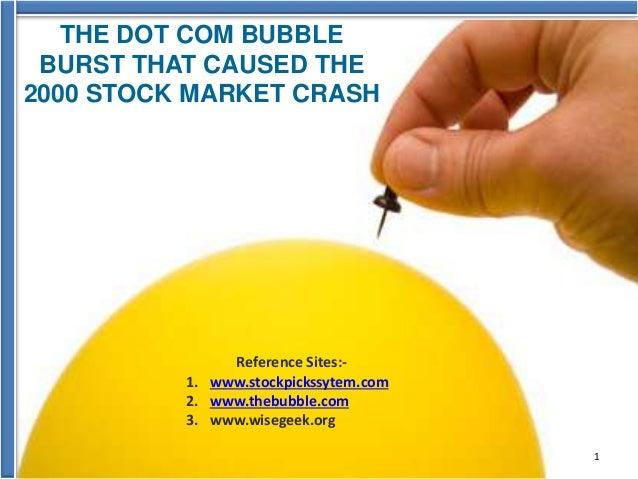 the dot com crash