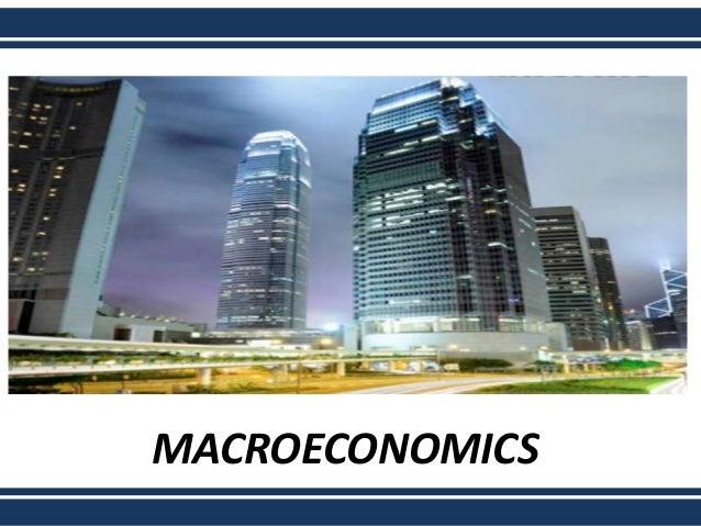 macroeconomics final