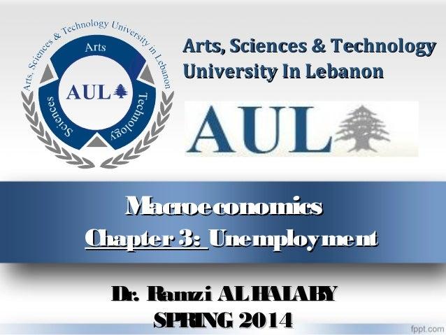 Macroeconomics chapter 3