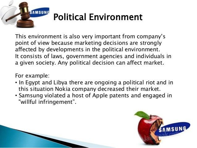 micro and macro environment of samsung Swot analysis of samsung each of the forces is analyzed in detail and presented with respect to the company's macro and micro environment samsung.
