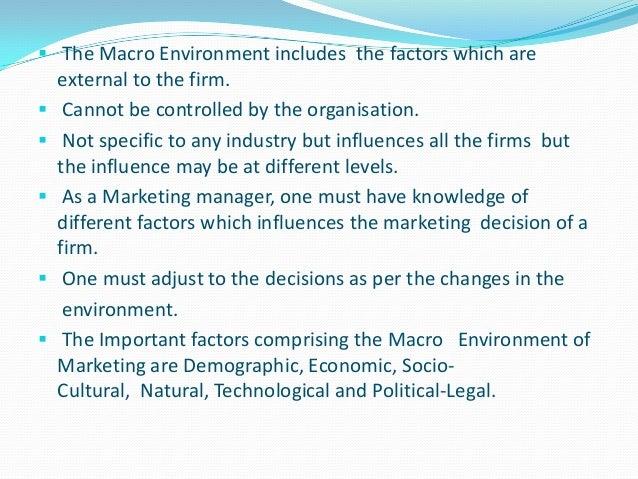 MACRO ENVIRONMENTAL ANALYSIS OF THE INDIAN FMCG MARKET