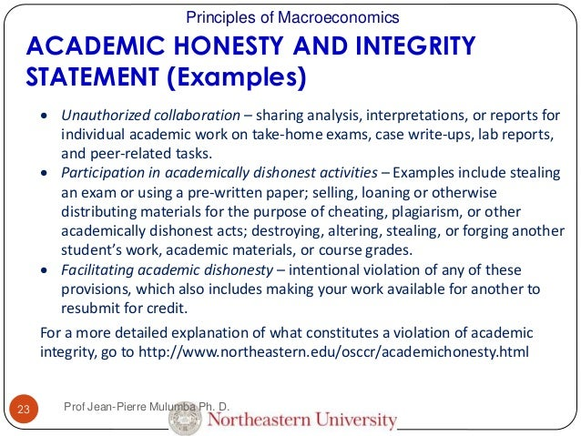 Integrity in the workplace essay