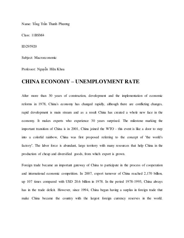 Macro Economic Performance of China and Japan (2010-2011)
