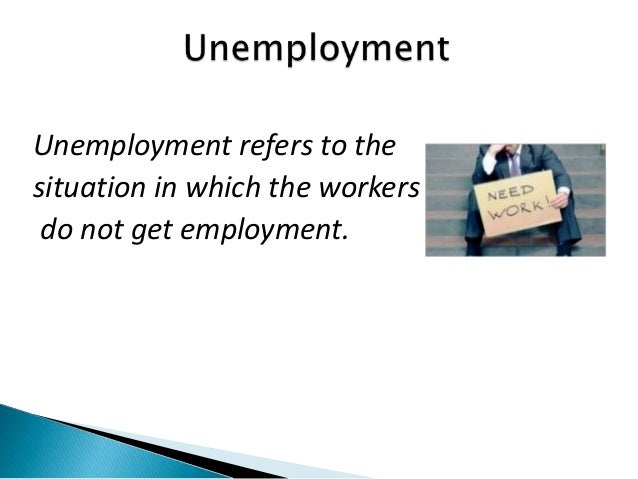 effects of unemployment on economy