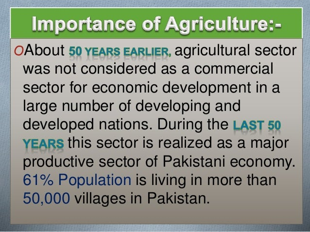 the importance of agriculture All of us are aware of the importance of agriculture, but do you know agriculture does much more than just feeding the entire population of a country read ahead to know how this practice.
