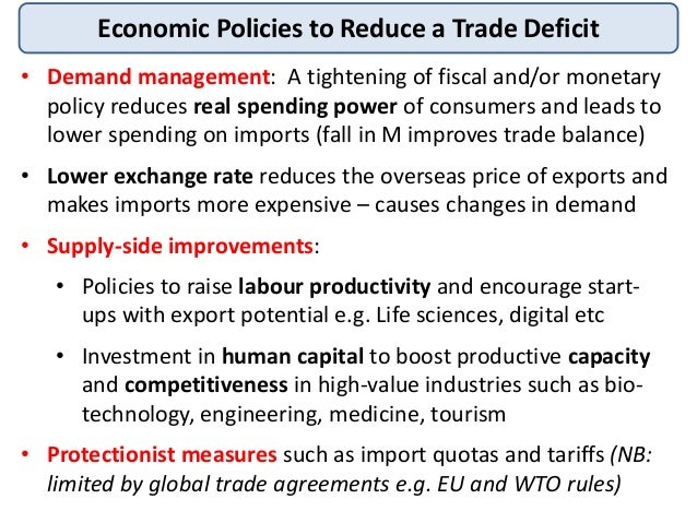 macroeconomics fiscal deficit and trade balance Macroeconomics: a european perspective  trade balance trade surplus trade deficit  to macroeconomics: a european perspective notes.
