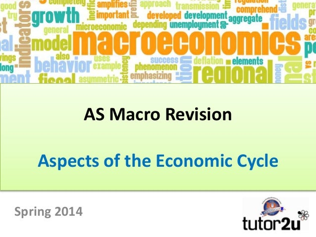 AS Macro Revision Aspects of the Economic Cycle Spring 2014