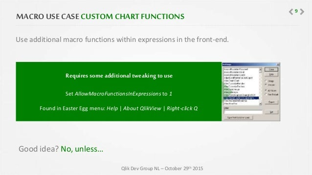QlikView Macro's Are Bad