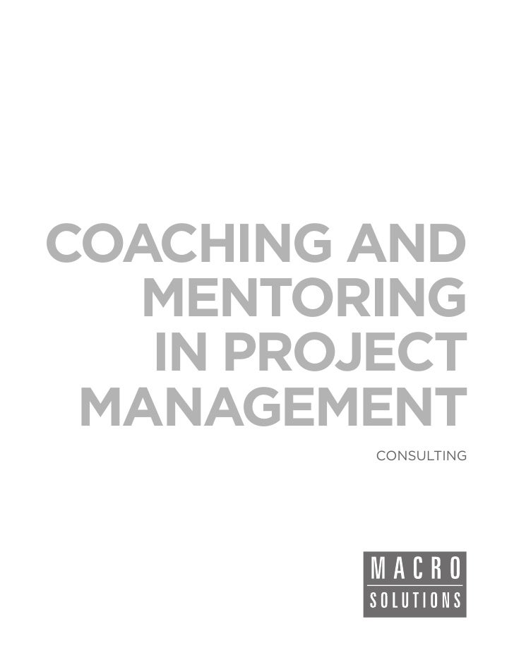 Macrosolutions Consulting Service: Coaching and Mentoring