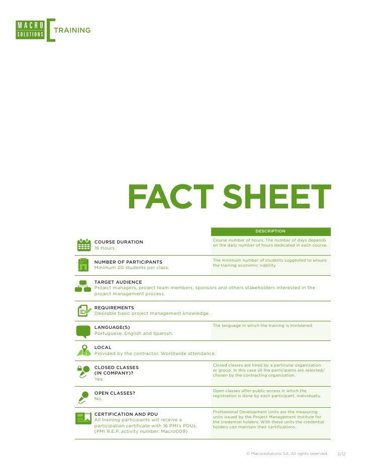 Macrosolutions Training: Project Quality Management Slide 3