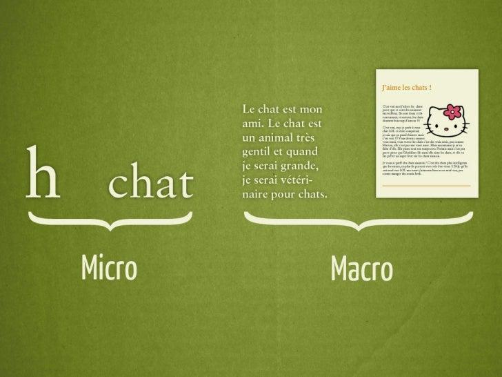 La Macrotypographie de la page Web Slide 3
