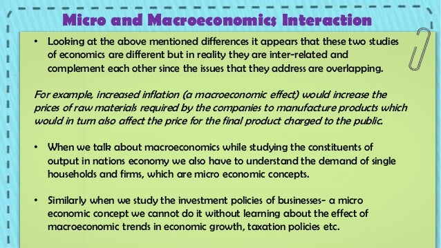 Macro vs Microeconomics - 107.9KB