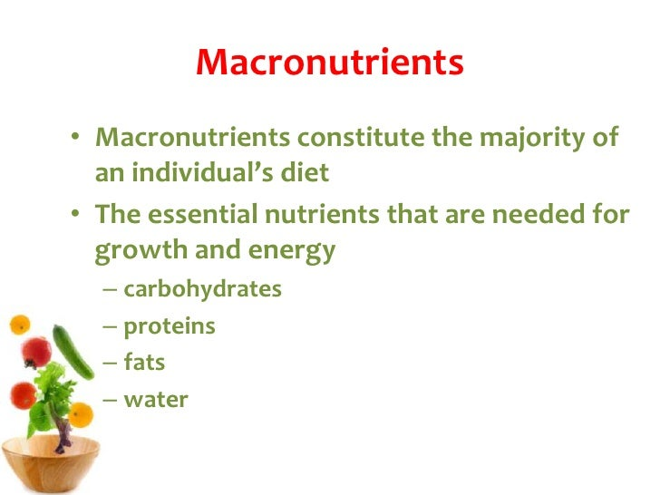 Can All The Nutrients In Food Be Used For Energy