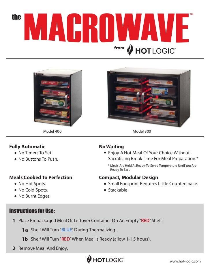 Macrowave Promotional Data Sheet
