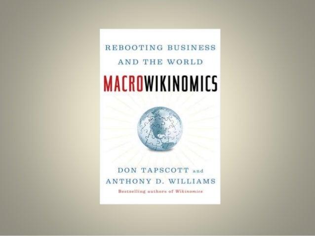 With Wikinomics