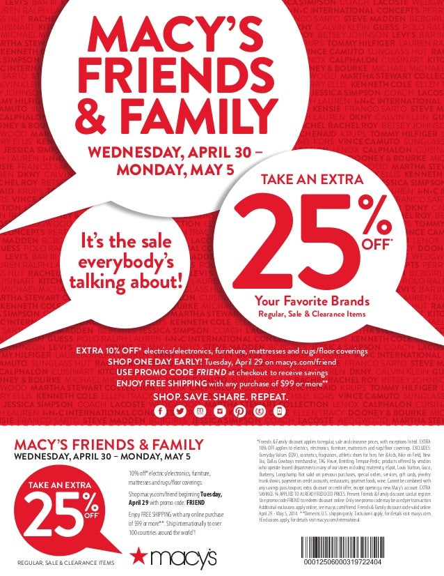 The Difference Between Macy's One Day Sale & the Preview Day