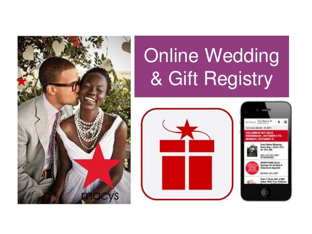 Online Wedding & Gift Registry