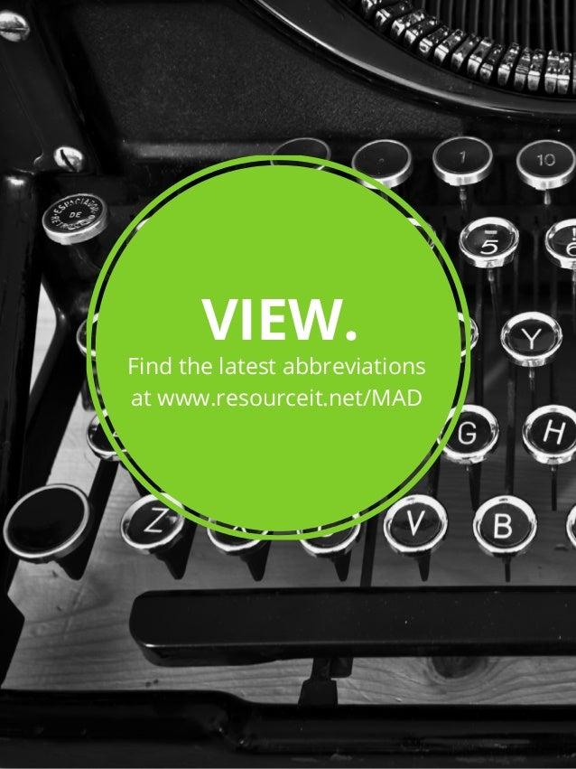 Microsoft Abbreviations Dictionary Slide 2
