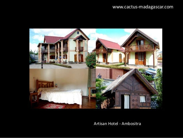 Madagascar hotels and lodges by Cactus Tours Madagascar