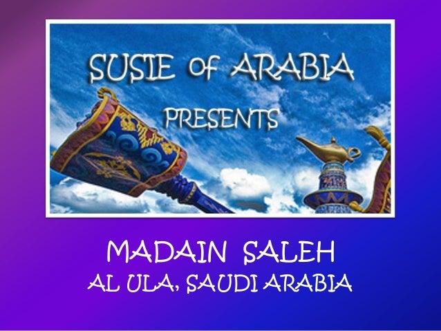 MADAIN SALEH AL ULA, SAUDI ARABIA