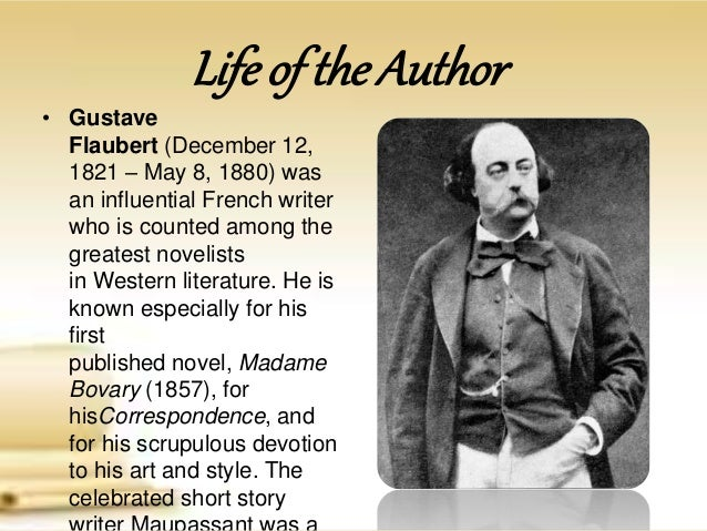 a summary of the novel madame bovary by gustave flaubert Overview now considered a masterpiece, gustave flaubert's most famous novel brought with it charges of immorality on publication emma bovary is the beautiful young wife of the local village doctor, a solid kind hearted young man, who lacks the passion and ambition that emma had imagined of life.