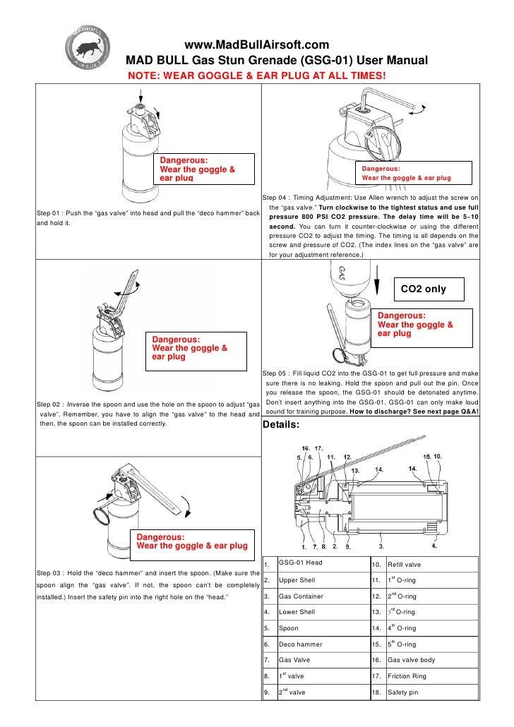 Madbull Stun Grenade Manual