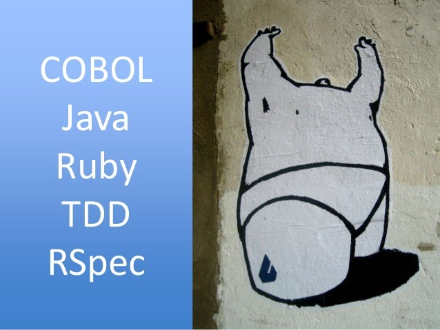 COBOL Java Ruby TDD RSpec 3
