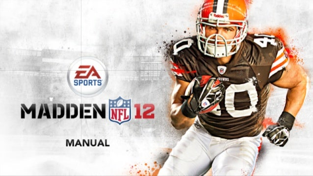 ea sports madden nfl 12 game manual rh slideshare net EA Sports Madden Ultimate Team Madden 17 EA Sports Rosters
