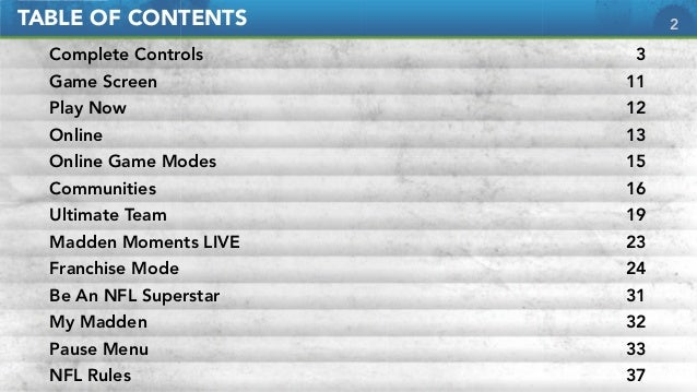 ea sports madden nfl 12 game manual rh slideshare net EA Boxing Game EA Car Games