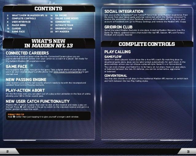 ea sports madden nfl 13 game manual rh slideshare net ea sports ufc game manual EA Car Games