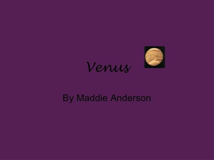 Maddie venus