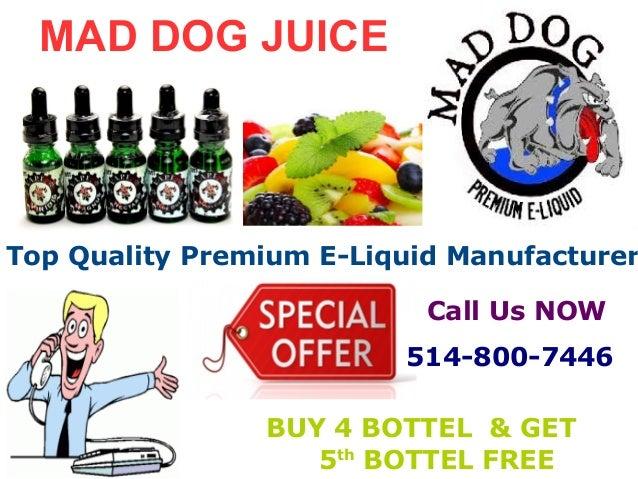 Mad Dog Juice Affordable Premium E-Liquid Manufacturer in
