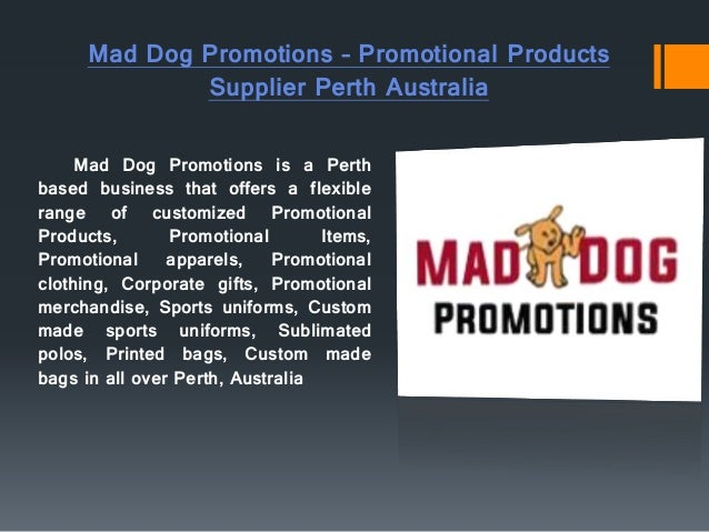 Promotional Products, Promotional Items and Merchandise Perth - MadDo…