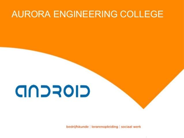 AURORA ENGINEERING COLLEGE