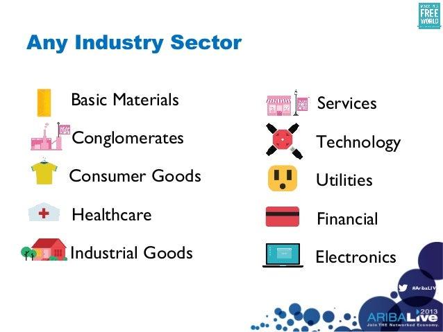 #AribaLIVEBasic MaterialsConglomeratesConsumer GoodsFinancialHealthcareIndustrial GoodsServicesTechnologyUtilitiesElectron...