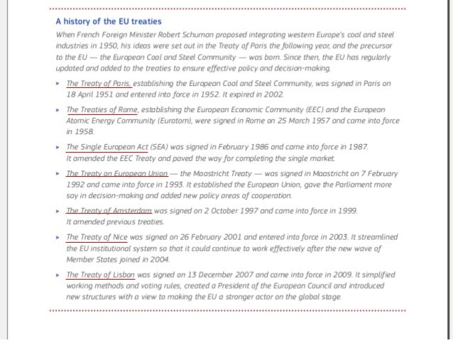 why was the eu created Find out more about the how and why was nafta created,  in fact, nafta and the eu's treaty of maastricht were both signed in 1993.
