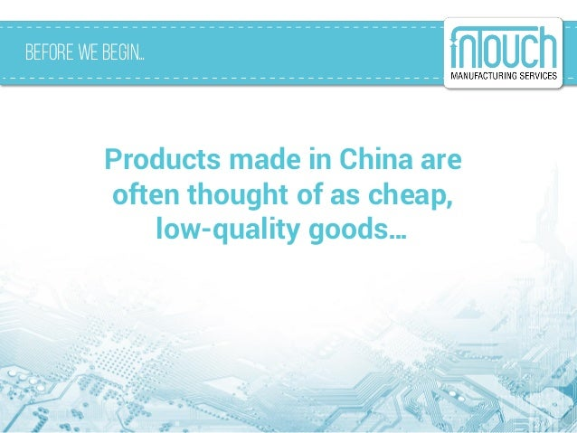 Made in China 2025 Slide 2