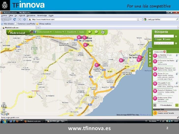 Concepto del producto: www.tfinnova.es