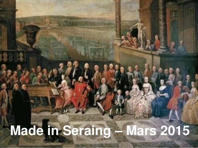 www.spi.be agence de développement de la province de Liège Made in Seraing – Mars 2015