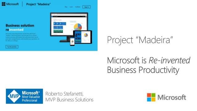 Roberto Stefanetti, MVP Business Solutions
